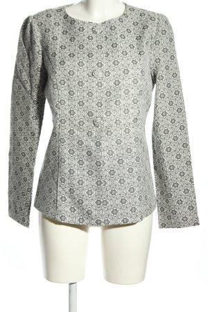 Anonyme Designers Jersey Blazer light grey allover print elegant