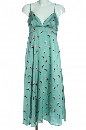Anonyme Designers Midi Dress flower pattern casual look