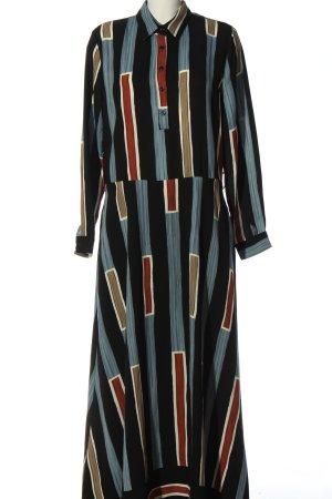 ANONYME Maxi-jurk veelkleurig casual uitstraling