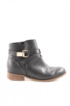 Another A Ankle Boots black-brown casual look
