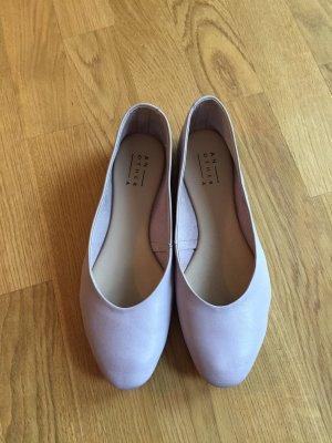 Another A: Ballerinas Flieder Taupe Gr. 39 nur 1x getragen