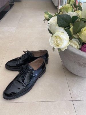 Another A Sznurowane buty czarny