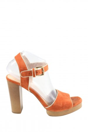 Another A Riemchenpumps hellorange Elegant