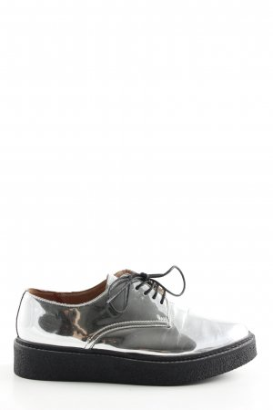 Another A Lace Shoes silver-colored casual look