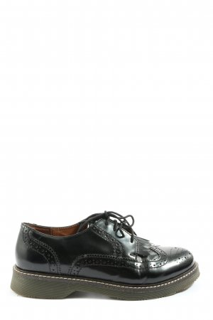 Another A Lace Shoes black casual look