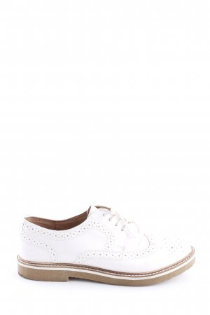 Another A Chaussures à lacets blanc
