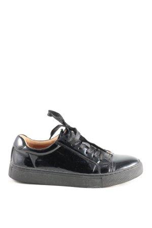 Another A Sneakers met veters zwart casual uitstraling