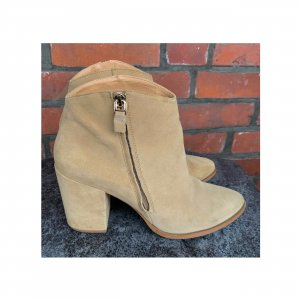 Another A Zipper Booties multicolored