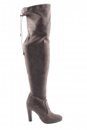 Another A Wide Calf Boots brown casual look