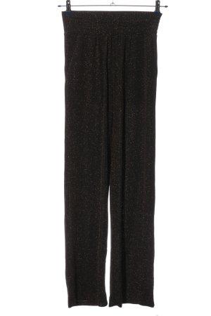 Another Label Pantalon «Baggy» brun style décontracté