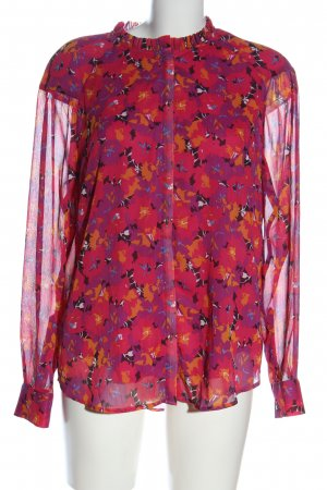 Another Label Hemdblouse abstract patroon casual uitstraling