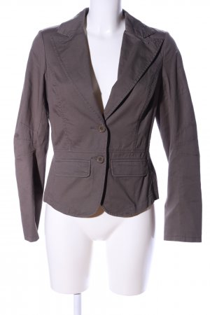 another woman Sweat Blazer brown themed print business style