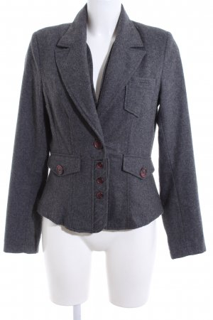 another woman Wool Blazer light grey flecked business style