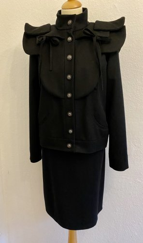 Chanel Blusón negro Lana