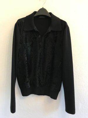 Prada Knitted Sweater black wool