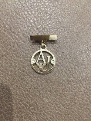 Armani Jeans Pendentif doré