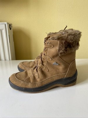 Winter Booties light brown leather