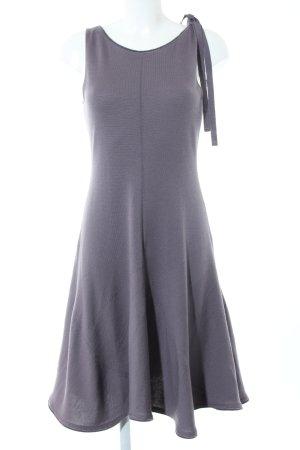 Anteprima Gebreide jurk lichtgrijs Webpatroon casual uitstraling