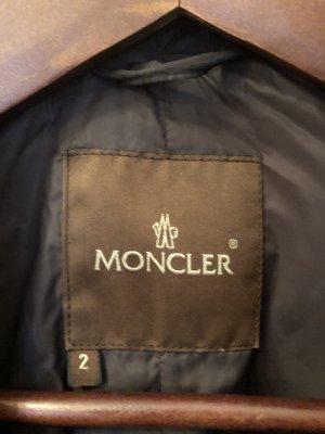 Anthracitfarbener MONCLER-mantel Größe 2 (36-38)