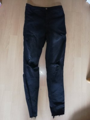 H&M Divided Hoge taille jeans antraciet