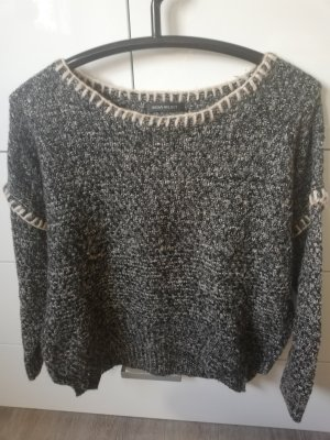 Coarse Knitted Sweater anthracite