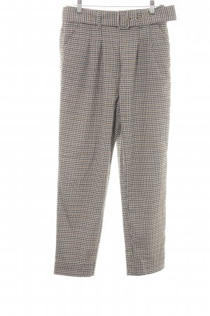Anthropologie Chinohose Karomuster Business-Look