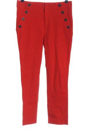 Anthropologie Spodnie z wysokim stanem czerwony W stylu casual