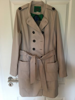 Anthropologie Trench beige Poliestere