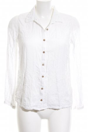 Anthropologie Blouse met lange mouwen wit casual uitstraling