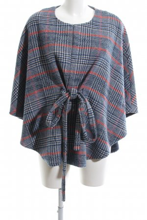 Anthropologie Poncho Karomuster Business-Look
