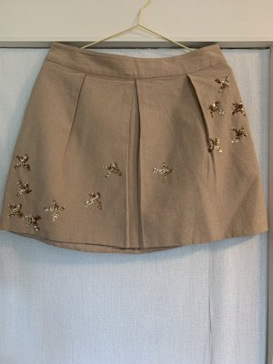 Anthropologie Plaid Skirt nude