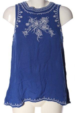 Anti Blue ärmellose Bluse