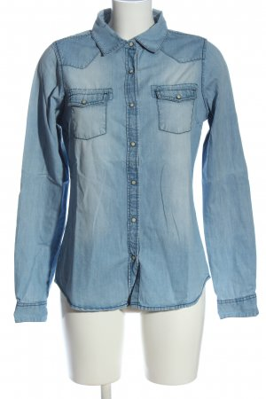 Anti Blue Denim Shirt blue casual look