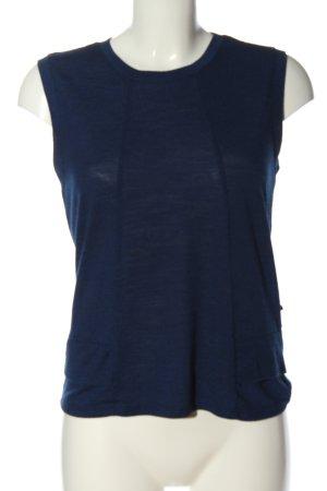 Anti Blue Gebreid shirt blauw casual uitstraling