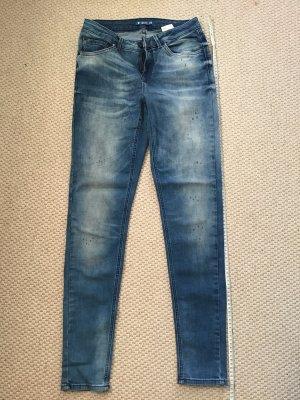 Anti Blue Hoge taille jeans veelkleurig
