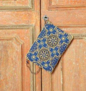 Antica Sartoria Kopertówka Wielokolorowy Bawełna