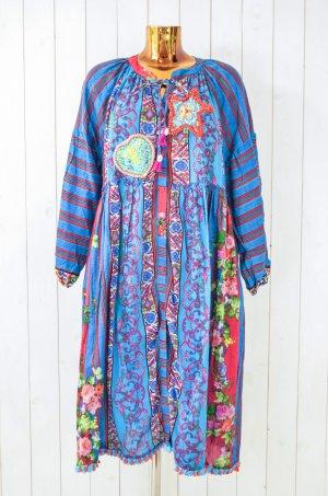 Antica Sartoria Hippie Dress multicolored cotton