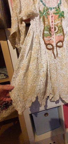 Antica Sartoria Tunic Dress cream