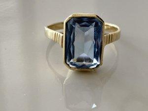 Antik 585 Gold Spinell Ring Goldring