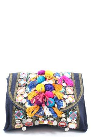 Antik Batik Clutch multicolored extravagant style