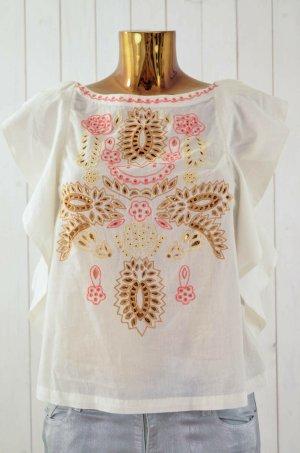 Antik Batik Short Sleeved Blouse multicolored