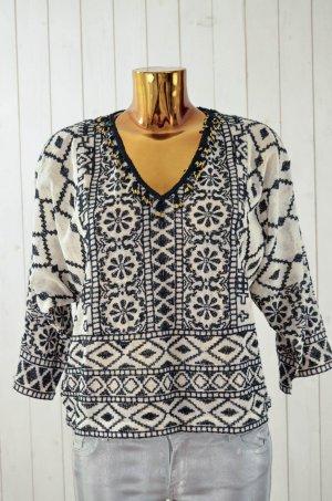 Antik Batik Blouse met lange mouwen veelkleurig