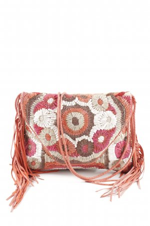 Antik Batik Fringed Bag flower pattern casual look