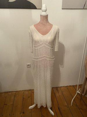 Antik Batik Evening Dress white