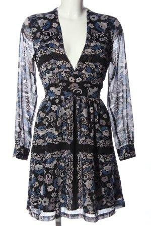 Antik Batik Robe à manches longues imprimé allover élégant