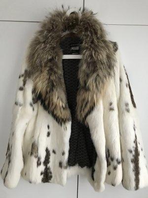 Antik Batik Fur Jacket natural white-light brown