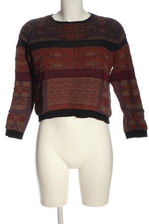 Antik Batik Sweter z dzianiny Na całej powierzchni W stylu casual