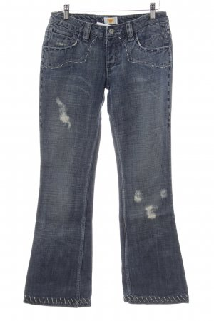 Antik Denim Boot Cut Jeans kornblumenblau Casual-Look