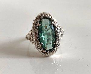 Antik Jugendstil 835 Silber Ring Silberring