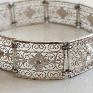 Antik Jugendstil Silberarmband 835 silber Armband Gliederarmband